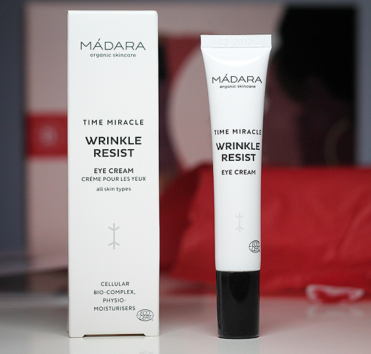 (Mádara) Time Miracle Wrinkle Resist Eye Cream
