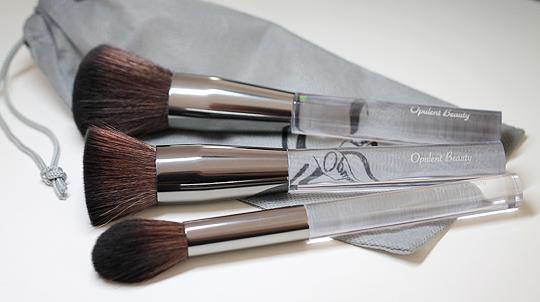 (Opulent Beauty) Make-Up Brushes, 3er-Set