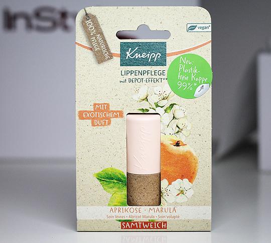 (Kneipp) Lippenpflege Samtweich mit Aprikose & Marula - InStyle Box Sommer 2020