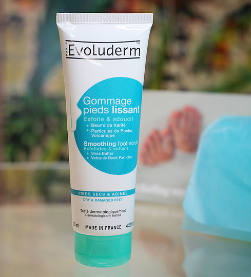 (Evoluderm) Gommage Pieds Lissant - Smoothing Foot Scrub