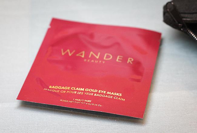 [Wander Beauty] Baggage Claim Gold Eye Masks