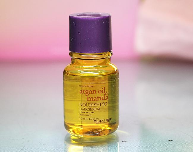 [Luxliss] Argan Oil & Marula Nourishing Hair Serum