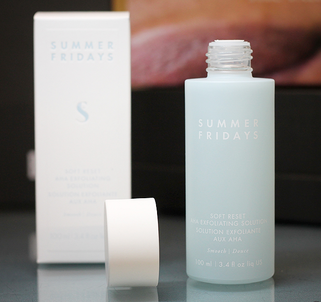 [Summer Fridays] Soft Reset AHA Exfoliating Solution