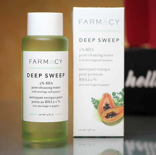 [Farmacy] Deep Sweep 2 % BHA pore cleaning toner - BoxyCharm Base Jänner 2021