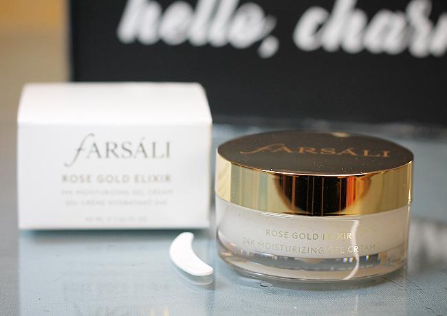 [Farsáli] Rose gold elixir - 24K moisturizing gel cream