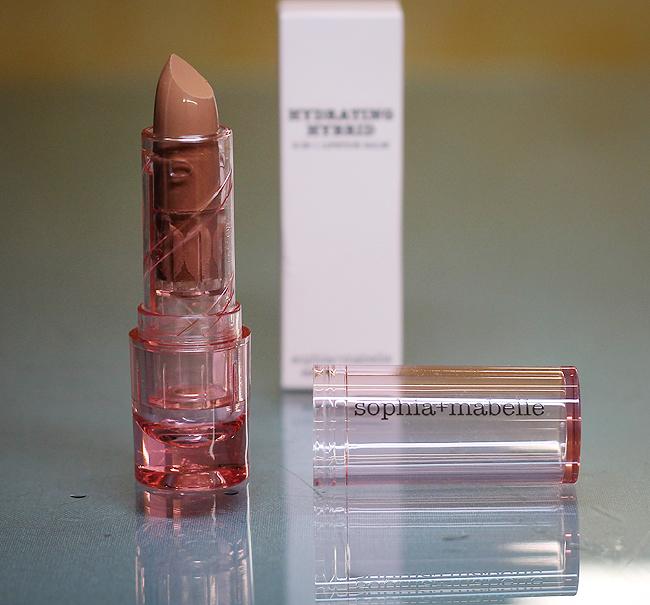 "[Sophia + Mabelle] Hydrating Hybrid Lipstick balm in ""Topless"""