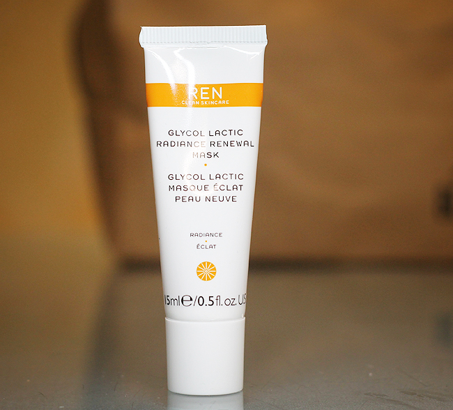 [REN] Glycolic Lactic Radiance renewal mask - Cult Conscious
