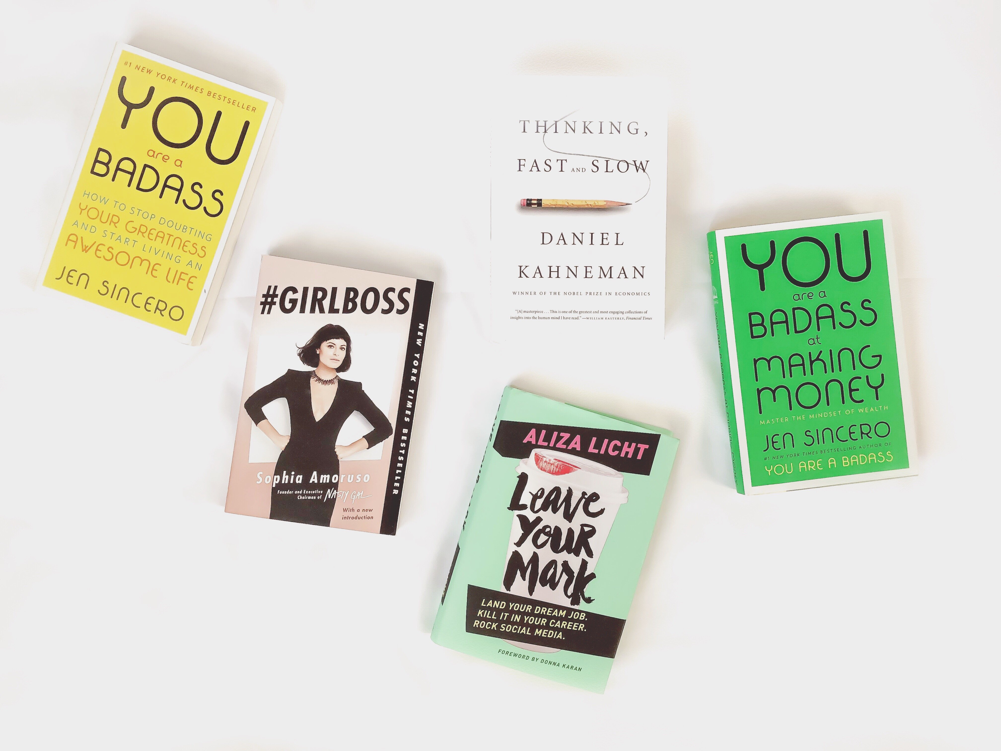 5 Books to motivate you to become the best girl boss you can possibly be