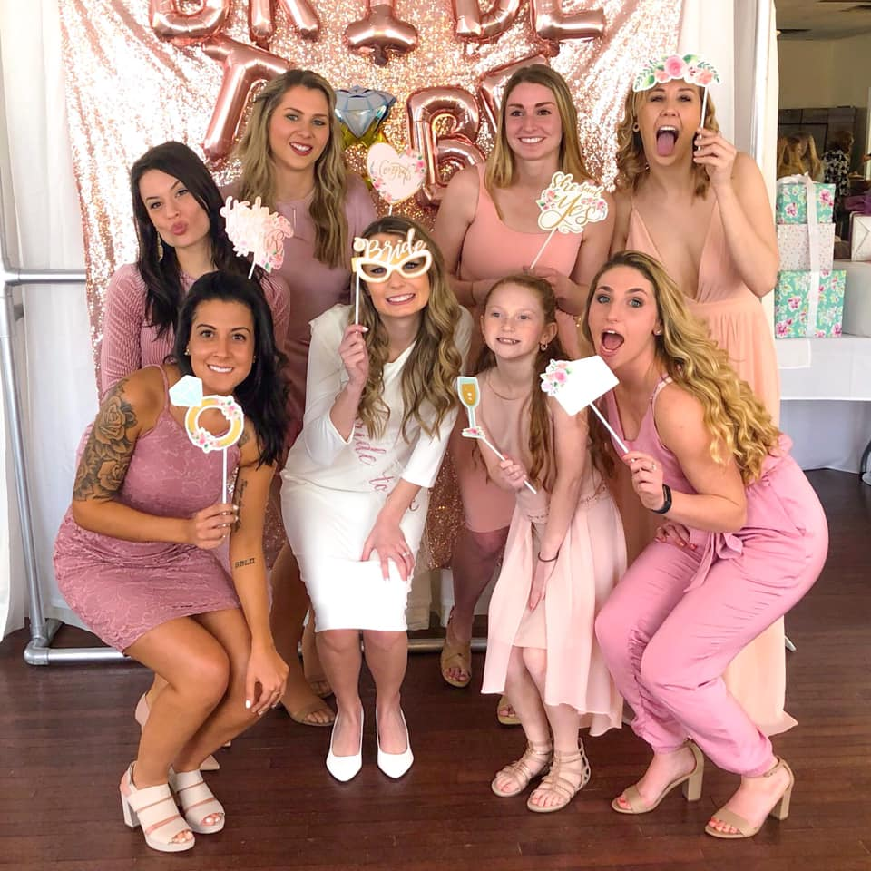 So thankful for such a beautiful bridal shower