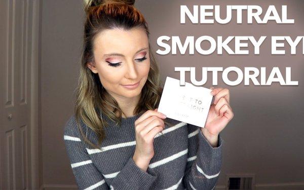 Easy Makeup Tutorial: Neutral Smokey Eye