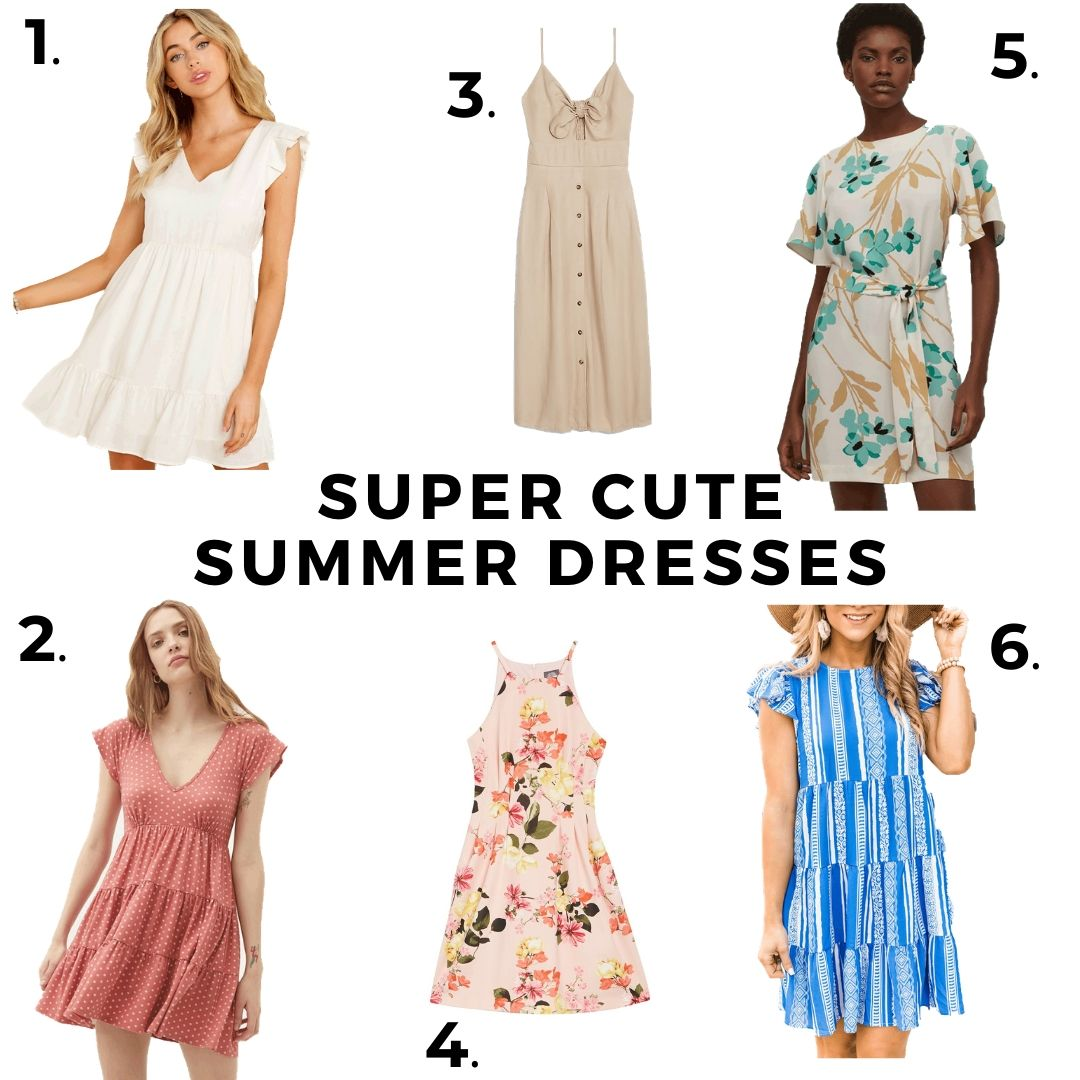 6 Summer Dresses That Are Totally Adorable & Affordable