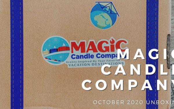 Magic Candle Company Subscription Box | October 2020