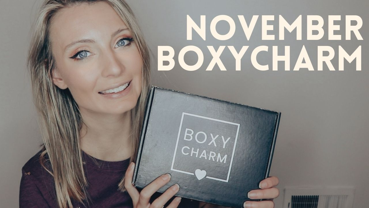 November BOXYCHARM Unboxing & Trying Out The Products!