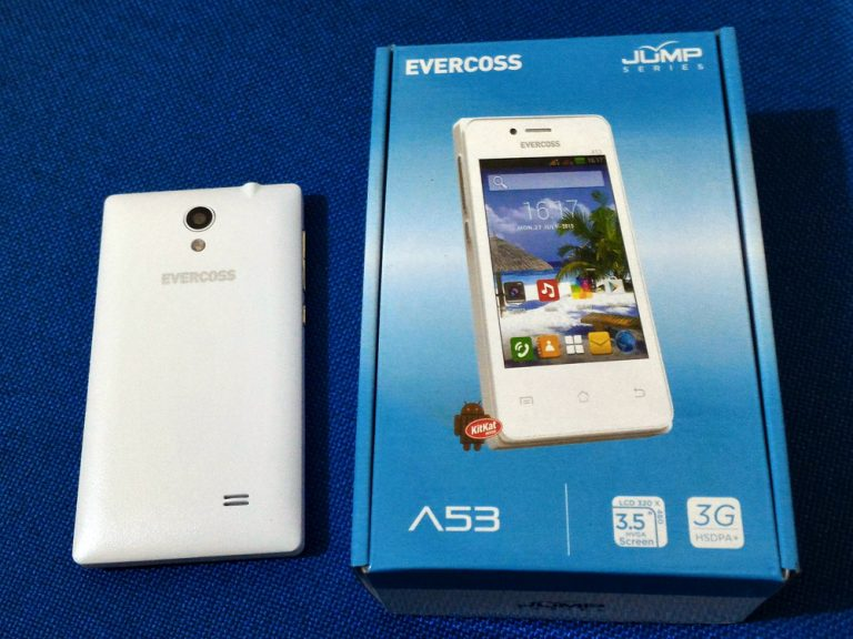 Cara Flashing Firmware Evercoss A53* Bintang