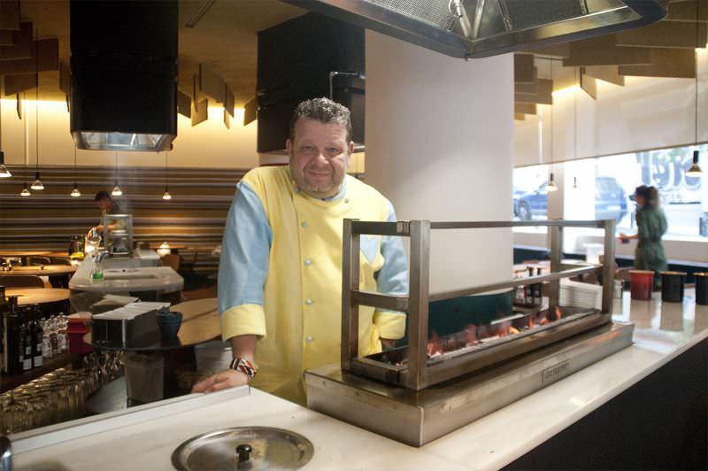 Alberto Chicote en su restaurante Yakitoro