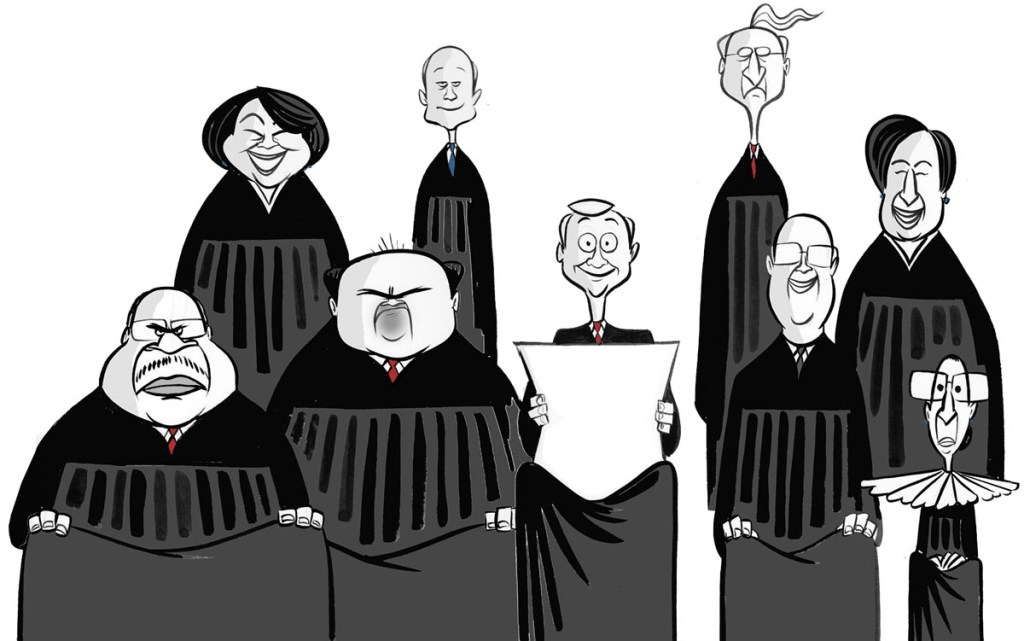 Supreme Court Judges UnBumf