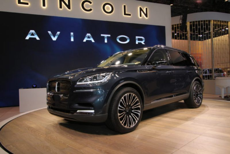 Lincoln Aviator New York International Auto Show UnBumf