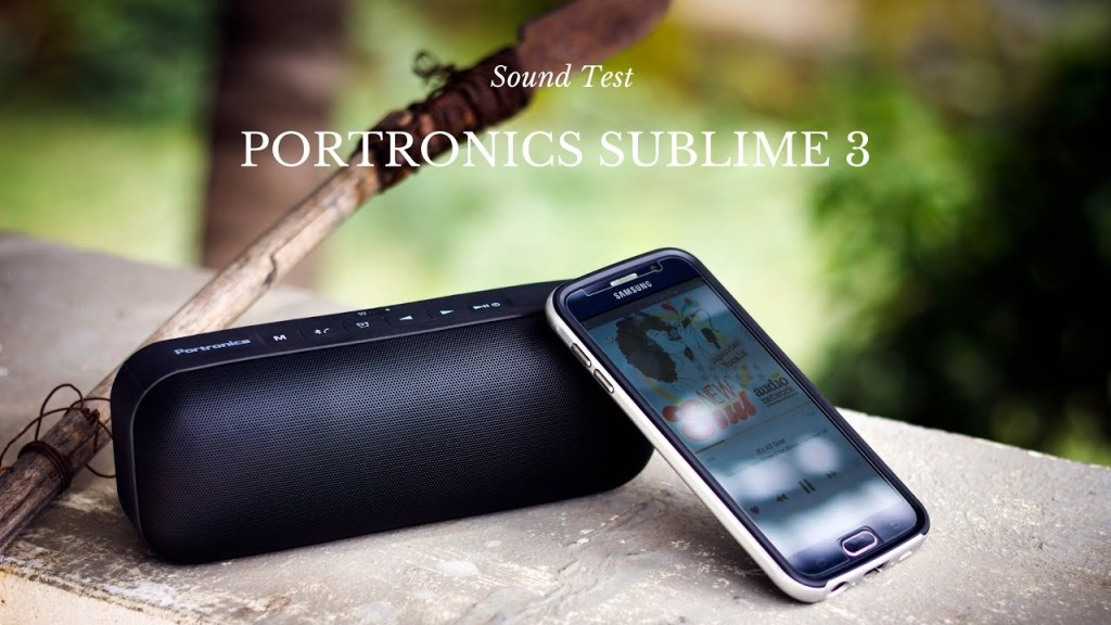 Sublime Bluetooth Speakers New UnBumf