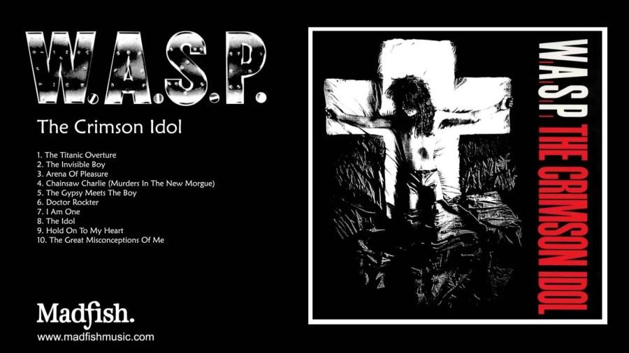 The Crimson Idol WASP Unbumf