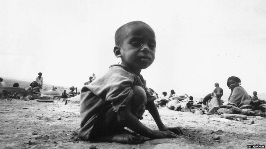 The Ethiopian Famine of 1980s