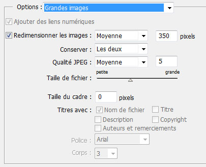 CS2 options grandes images
