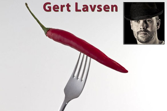 Gert Lavsen, Red hot chili pepper on a fork