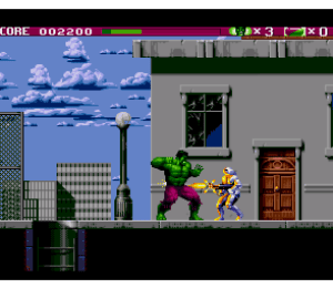 Incredible Hulk Sega Genesis