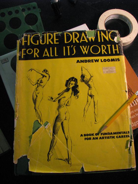 Bookshelf Figure Drawing For All It's Worth Uncannymanfrog's Blog