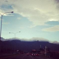 Rutina -neblina arriba-