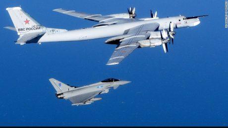 NATO jet Russian