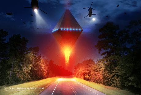 Cash Landrum UFOs