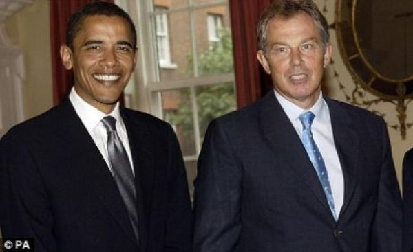 Obama Blair