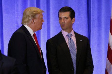 Trump Junior and Senior