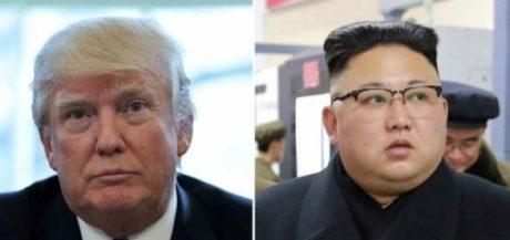Trump mocks Kim