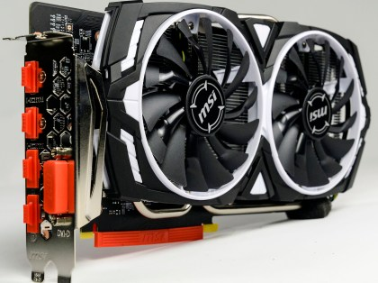 MSI Armor GTX 1060 OC for Ryzen 5 Gaming PC