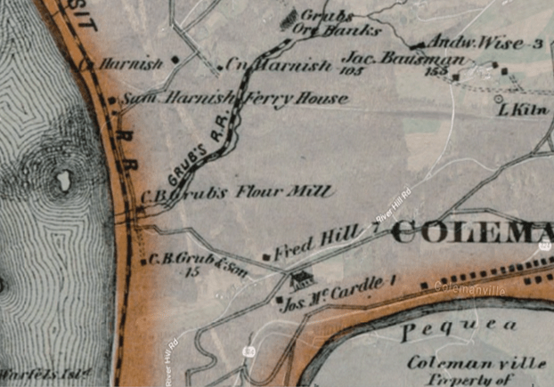 shenks ferry maps rr 3