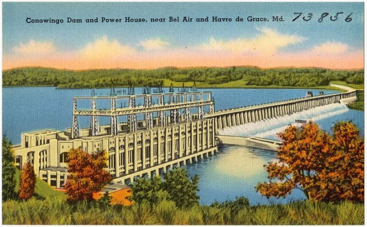 Conowingo_Dam_and_Power_House,_near_Bel_Air_and_Havre_de_Grace,_Md_(73856)