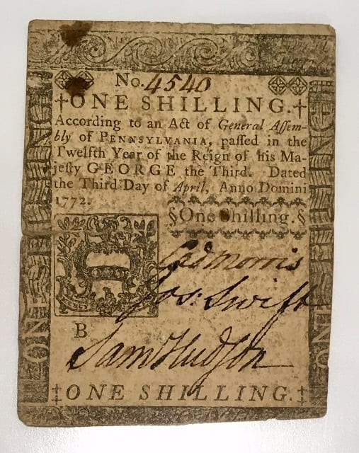 1772-One-Shilling-Side-2
