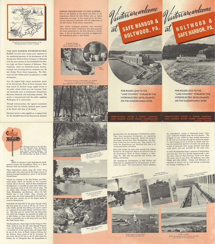 Safe Harbor Brochure Outside Right Reading 1951 Small