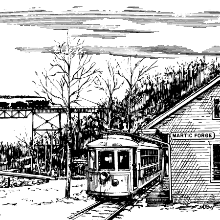 Pequea Trolley in Martic Forge