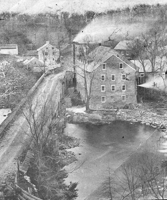 Eden Paper Mill, Binkley's Bridge