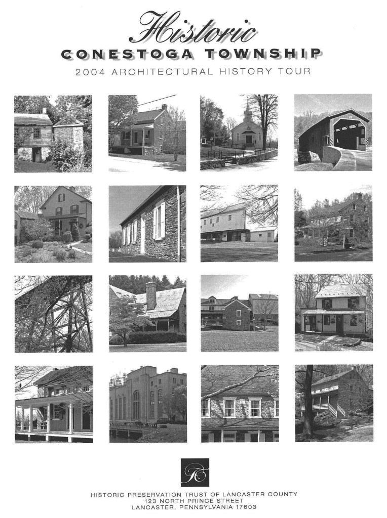 Conestoga Architectural Tour Book Cover