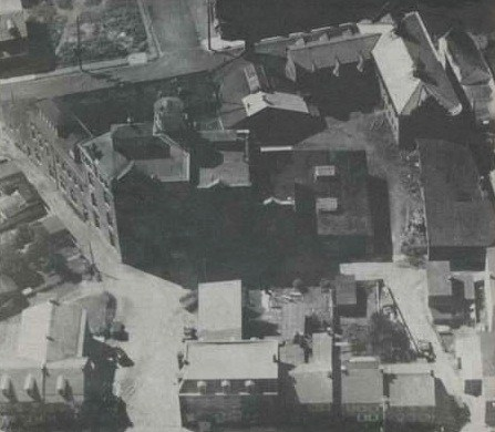 Ariel view of Reiker's Brewery.