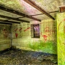 Inside the basement
