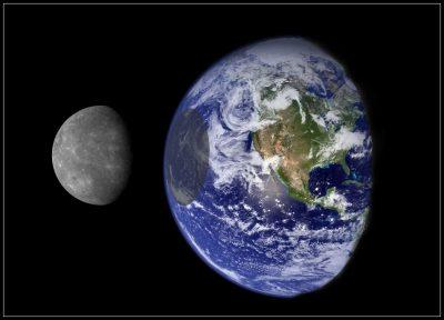 mercury and earth