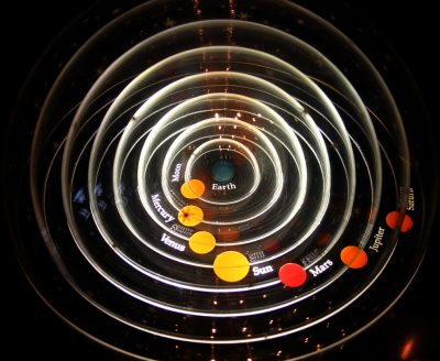 geocentric solar system