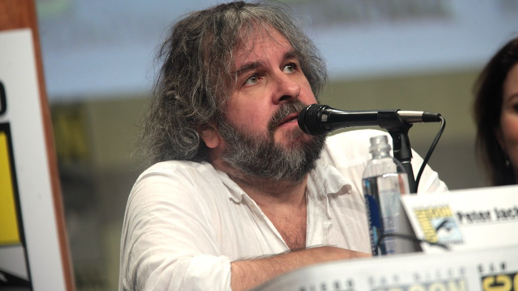 peter jackson at comic con