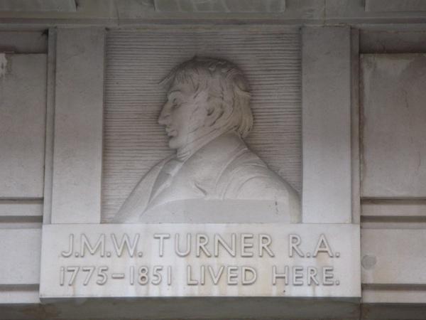 J.M.W. Turner bust