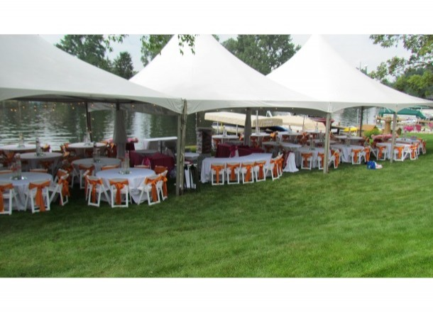 brown accent chairs lift recliner covered medicare & chair covers | uncle buck's party rental