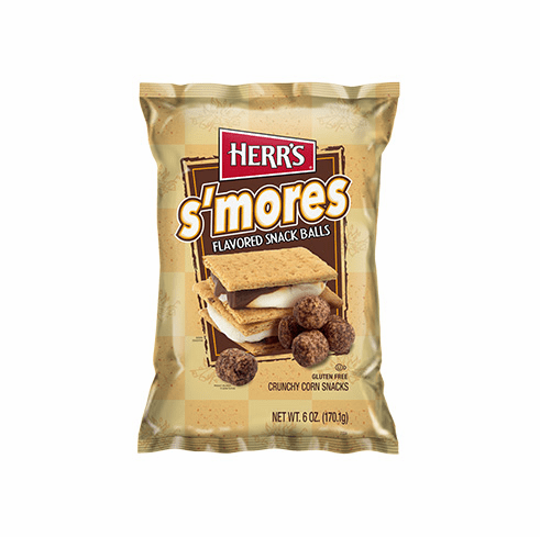 new herr s s mores snack balls 6 oz bags 12 bags per case 3